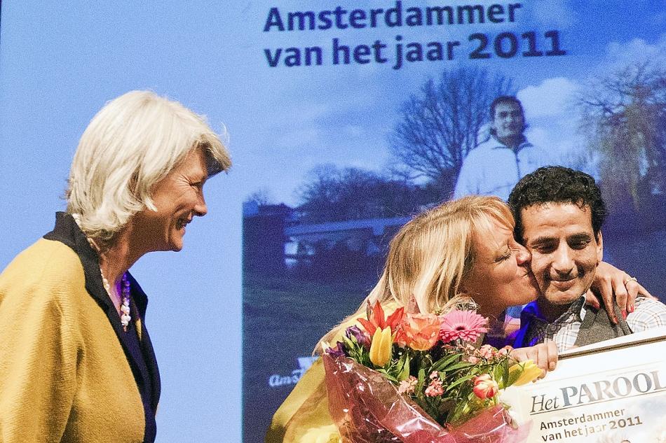 Amsterdammer van het jaar grote zaal - Versiering van de zaal van het tienermeisje van ...