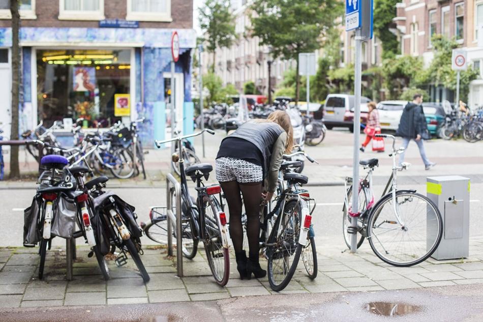 Slot fiets