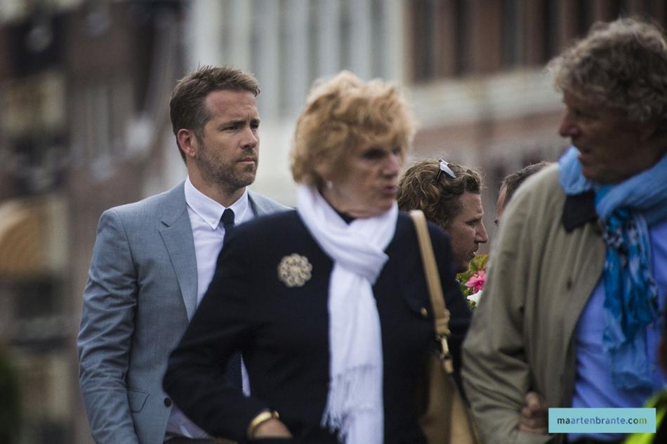 Ryan Reynolds in Amsterdam 2016   www.maartenbrante.com Ryan Reynolds