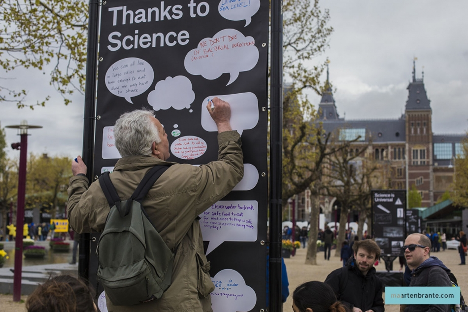 March for Science Museumplein 2017